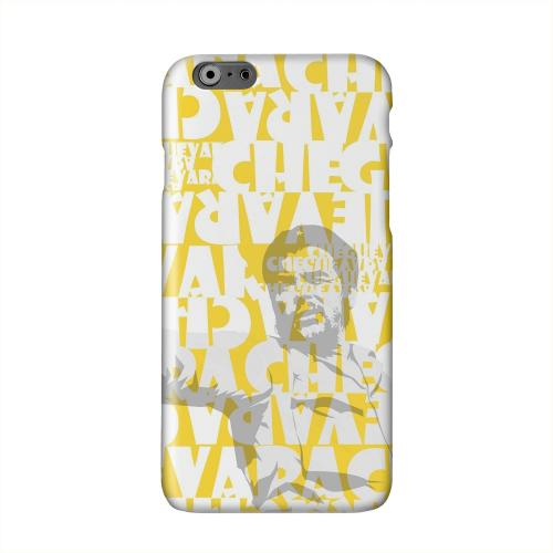 Che Guevara Discurso Faded Yellow Solid White Hard Case Cover for Apple iPhone 6 PLUS/6S PLUS (5.5 inch)