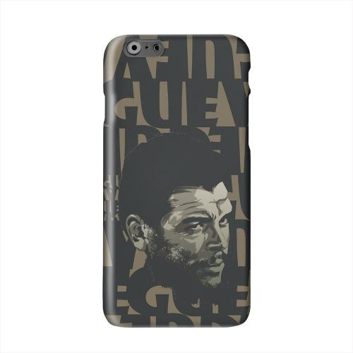 Che Guevara Serious Man on Brown Solid White Hard Case Cover for Apple iPhone 6 PLUS/6S PLUS (5.5 inch)