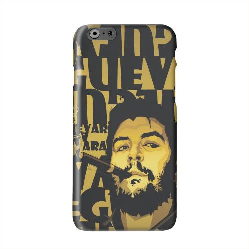 Che Guevara Smoke Gold Solid White Hard Case Cover for Apple iPhone 6 PLUS/6S PLUS (5.5 inch)