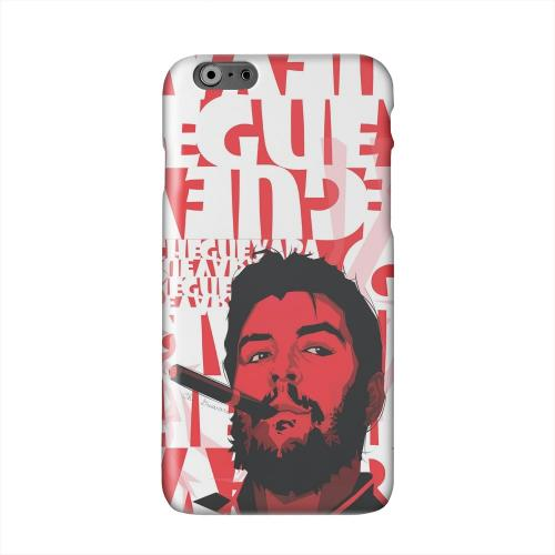 Che Guevara Smoke Red Solid White Hard Case Cover for Apple iPhone 6 PLUS/6S PLUS (5.5 inch)