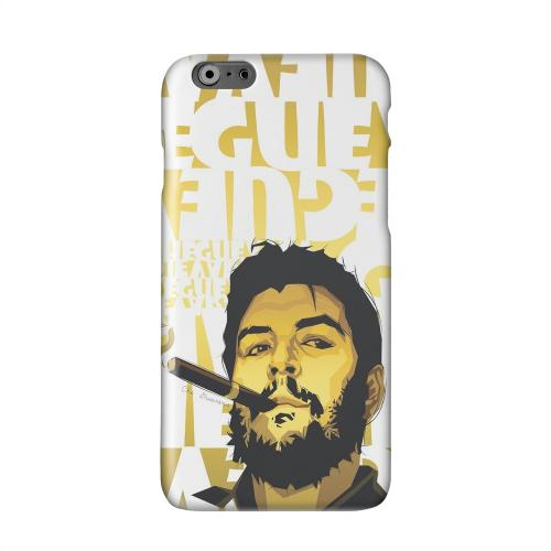 Che Guevara Smoke White Letters on Gold Solid White Hard Case Cover for Apple iPhone 6 PLUS/6S PLUS (5.5 inch)