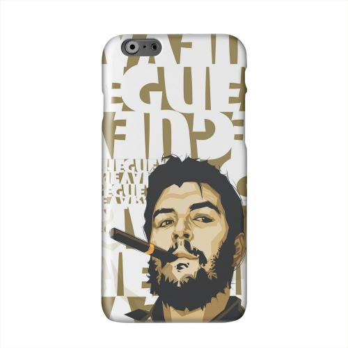 Che Guevara Smoke White Letters Solid White Hard Case Cover for Apple iPhone 6 PLUS/6S PLUS (5.5 inch)