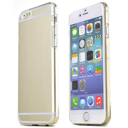 Manufacturers Clear Protective Slim Hard Case Cover [Ultra Slim and Perfect Fitting Made for Apple iPhone 6 (4.7 inch)] Silicone Cases / Skins