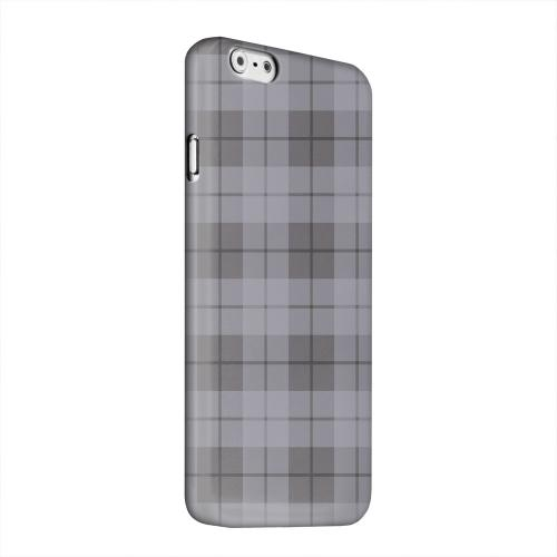 Geeks Designer Line (GDL) Apple iPhone 6 Matte Hard Back Cover - Grayish Plaid