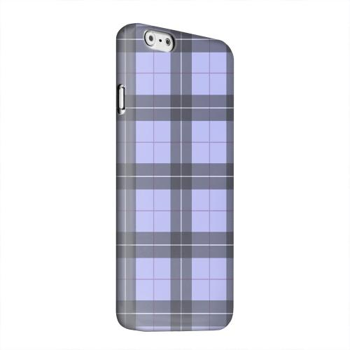 Geeks Designer Line (GDL) Apple iPhone 6 Matte Hard Back Cover - Scottish-Like Plaid in Purple