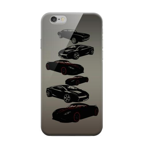 Geeks Designer Line (GDL) Apple iPhone 6 Matte Hard Back Cover - Sports Cars You Can't Afford