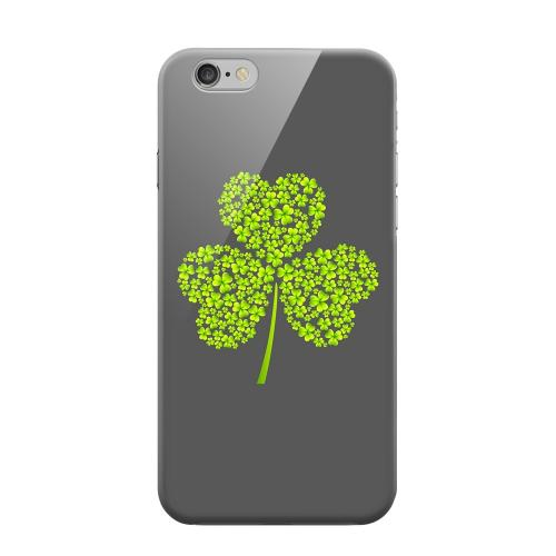 Geeks Designer Line (GDL) Apple iPhone 6 Matte Hard Back Cover - Clover Burst