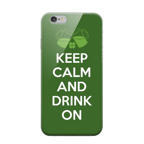 Geeks Designer Line (GDL) Apple iPhone 6 Matte Hard Back Cover - Drink On