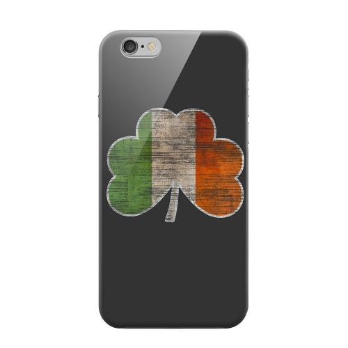 Geeks Designer Line (GDL) Apple iPhone 6 Matte Hard Back Cover - Irish Clover Flag