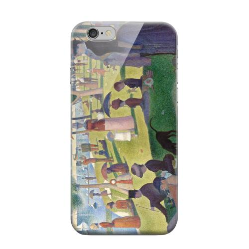Geeks Designer Line (GDL) Apple iPhone 6 Matte Hard Back Cover - Georges Seurat Sunday Afternoon