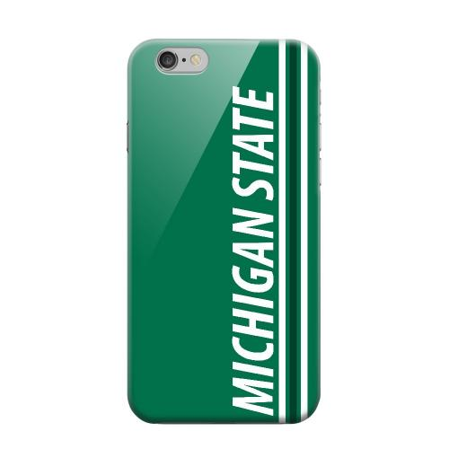 Geeks Designer Line (GDL) Apple iPhone 6 Matte Hard Back Cover - Michigan State