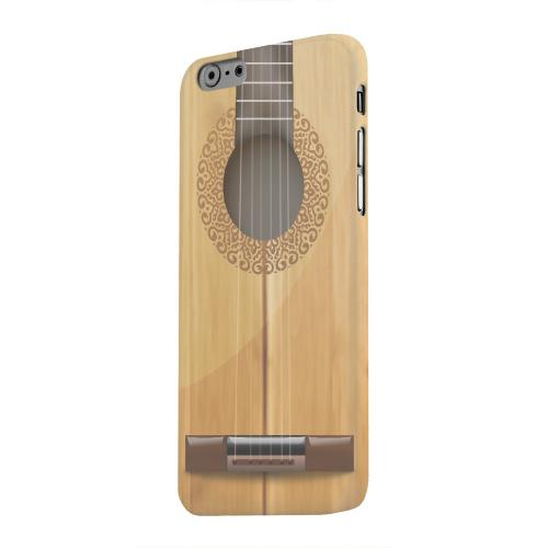 Geeks Designer Line (GDL) Apple iPhone 6 Matte Hard Back Cover - Acoustic Guitar