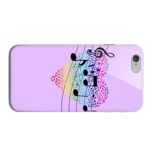 Geeks Designer Line (GDL) Apple iPhone 6 Matte Hard Back Cover - Earful of Color