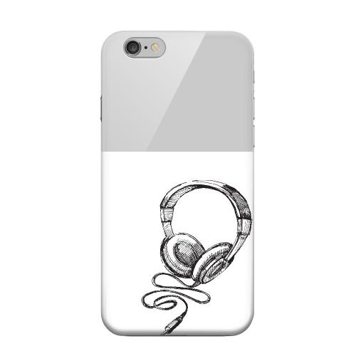 Geeks Designer Line (GDL) Apple iPhone 6 Matte Hard Back Cover - Head Bobbing Gray