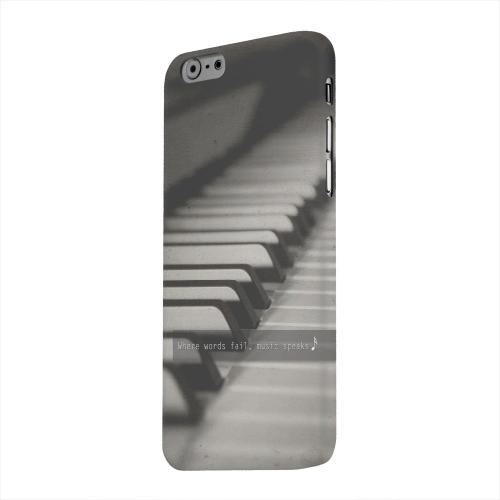 Geeks Designer Line (GDL) Apple iPhone 6 Matte Hard Back Cover - Music Speaks