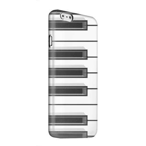 Geeks Designer Line (GDL) Apple iPhone 6 Matte Hard Back Cover - Piano Keys