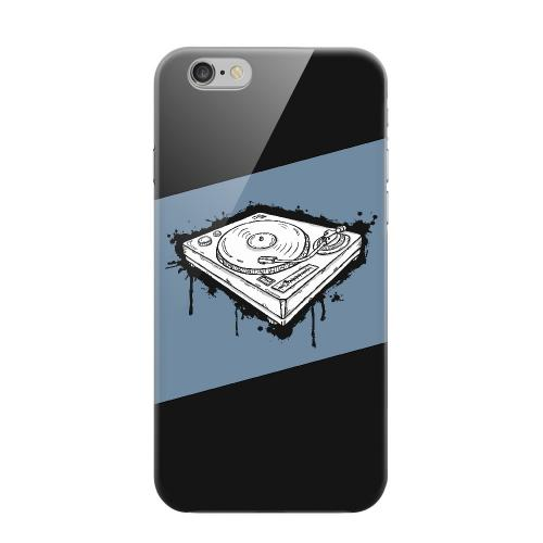 Geeks Designer Line (GDL) Apple iPhone 6 Matte Hard Back Cover - Wheel of Steel Blue