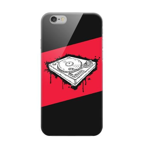 Geeks Designer Line (GDL) Apple iPhone 6 Matte Hard Back Cover - Wheel of Steel Red