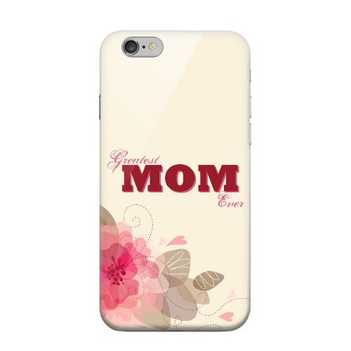 Geeks Designer Line (GDL) Apple iPhone 6 Matte Hard Back Cover - Greatest Mom Ever