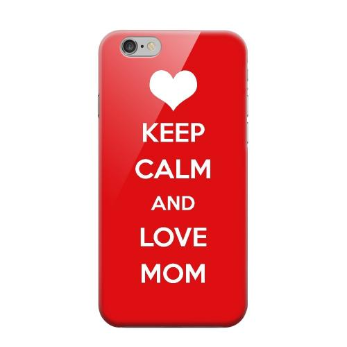Geeks Designer Line (GDL) Apple iPhone 6 Matte Hard Back Cover - Love Mom