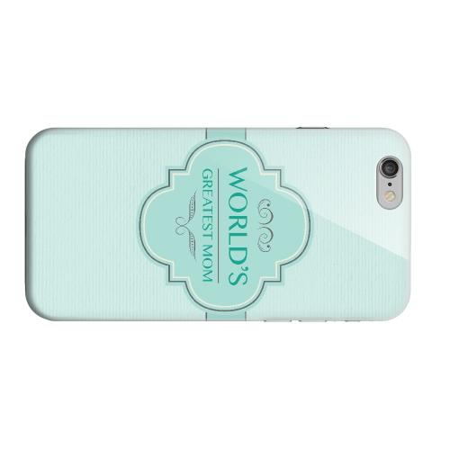 Geeks Designer Line (GDL) Apple iPhone 6 Matte Hard Back Cover - Vintage World's Greatest Mom