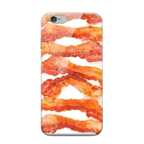 Geeks Designer Line (GDL) Apple iPhone 6 Matte Hard Back Cover - Bacon Goes Good