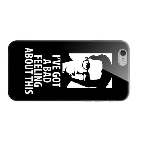 Geeks Designer Line (GDL) Apple iPhone 6 Matte Hard Back Cover - Bad Feeling