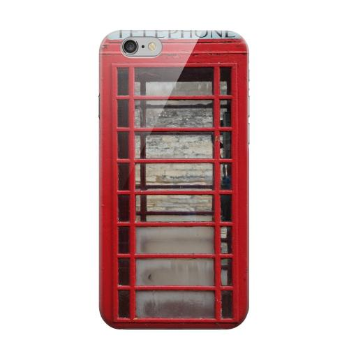Geeks Designer Line (GDL) Apple iPhone 6 Matte Hard Back Cover - English Telephone Booth