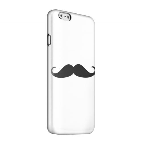 Geeks Designer Line (GDL) Apple iPhone 6 Matte Hard Back Cover - Mustache White