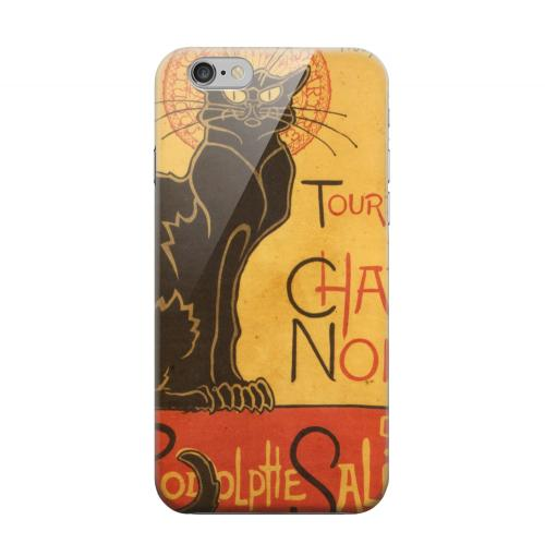 Geeks Designer Line (GDL) Apple iPhone 6 Matte Hard Back Cover - Le Chat Noir by Thophile-Alexandre Steinlen
