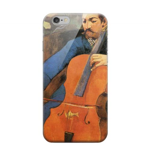 Geeks Designer Line (GDL) Apple iPhone 6 Matte Hard Back Cover - The Cellist by Paul Gauguin