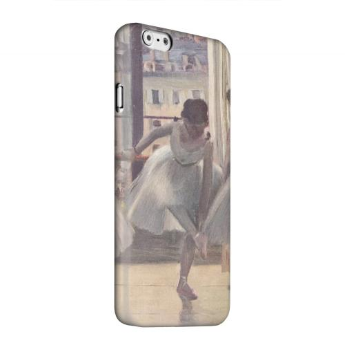 Geeks Designer Line (GDL) Apple iPhone 6 Matte Hard Back Cover - Three Dancers in an Exercise Hall by Edgar Degas