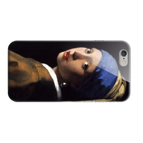 Geeks Designer Line (GDL) Apple iPhone 6 Matte Hard Back Cover - Girl with a Pearl Earring by Jan Vermeer