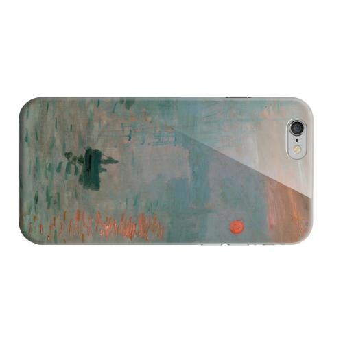 Geeks Designer Line (GDL) Apple iPhone 6 Matte Hard Back Cover - Impression Sunrise by Claude Monet