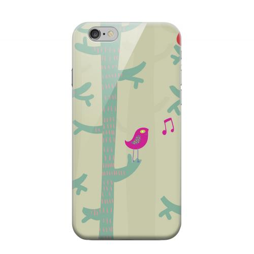 Geeks Designer Line (GDL) Apple iPhone 6 Matte Hard Back Cover - Spring Sing Forest