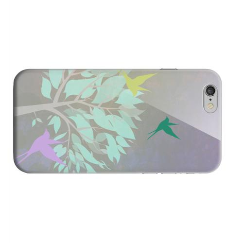 Geeks Designer Line (GDL) Apple iPhone 6 Matte Hard Back Cover - Swallow Flight