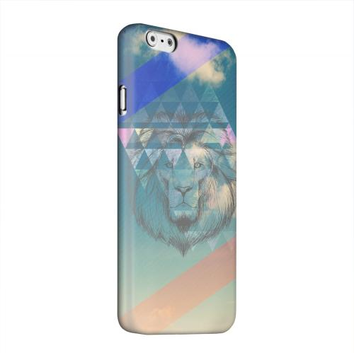 Geeks Designer Line (GDL) Apple iPhone 6 Matte Hard Back Cover - Majestic Lion in the Sky