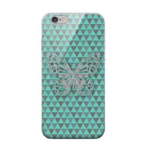 Geeks Designer Line (GDL) Apple iPhone 6 Matte Hard Back Cover - Butterfly Crypsis