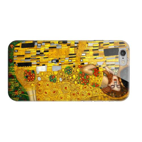 Geeks Designer Line (GDL) Apple iPhone 6 Matte Hard Back Cover - Gustav Klimt The Kiss