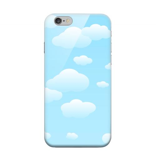 Geeks Designer Line (GDL) Apple iPhone 6 Matte Hard Back Cover - Peaceful Clouds