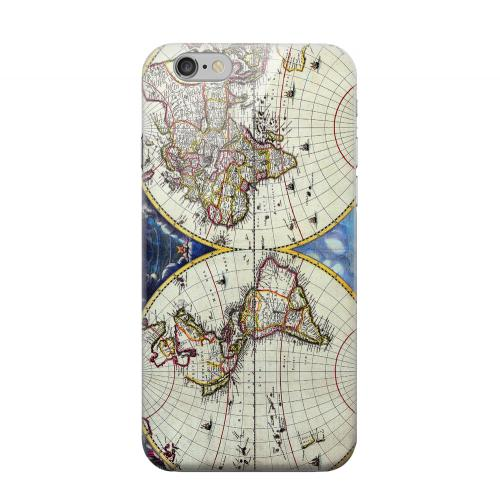 Geeks Designer Line (GDL) Apple iPhone 6 Matte Hard Back Cover - Terrarum Orbis Tabula Pictomap