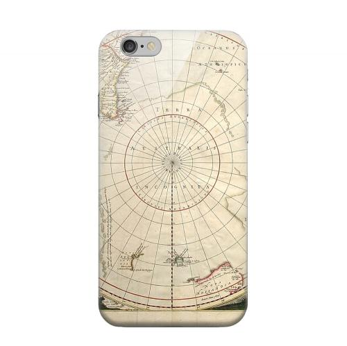 Geeks Designer Line (GDL) Apple iPhone 6 Matte Hard Back Cover - Terra Australis Incognita