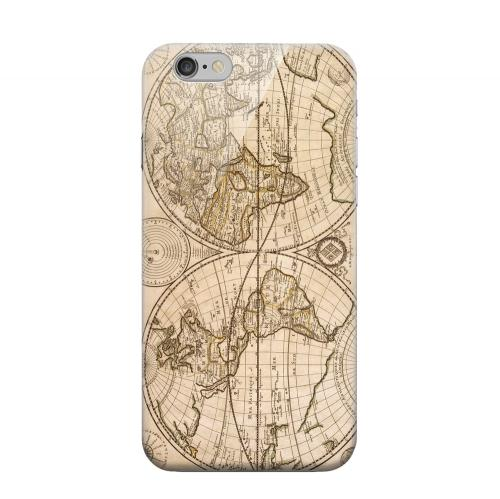 Geeks Designer Line (GDL) Apple iPhone 6 Matte Hard Back Cover - Carte Generale du Monde 1676