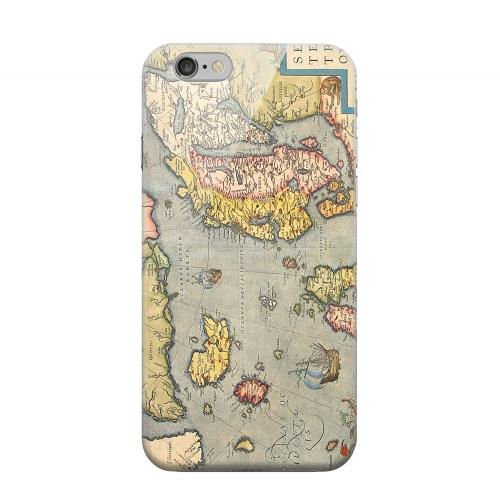 Geeks Designer Line (GDL) Apple iPhone 6 Matte Hard Back Cover - Ancient Map of Europe