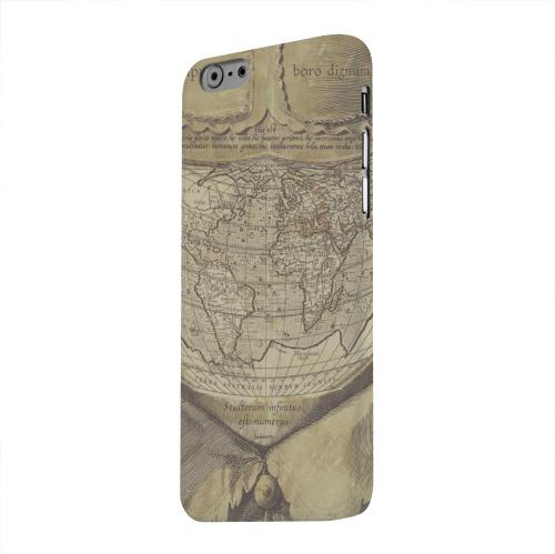 Geeks Designer Line (GDL) Apple iPhone 6 Matte Hard Back Cover - Ancient Map Head