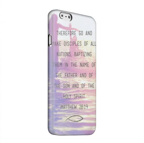 Geeks Designer Line (GDL) Apple iPhone 6 Matte Hard Back Cover - Matthew 28:19