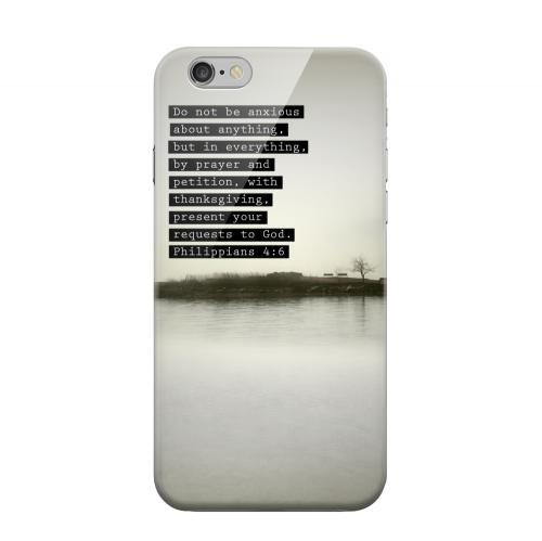 Geeks Designer Line (GDL) Apple iPhone 6 Matte Hard Back Cover - Philippians 4:6