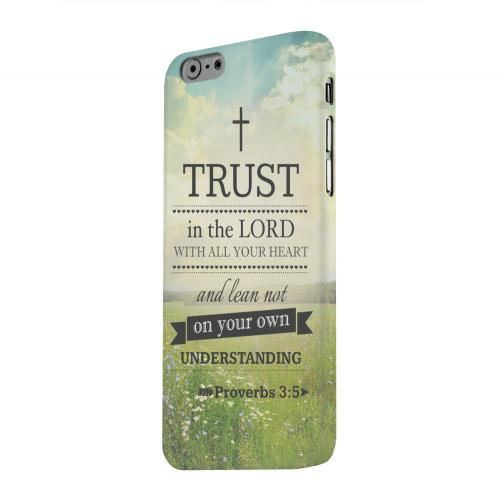 Geeks Designer Line (GDL) Apple iPhone 6 Matte Hard Back Cover - Proverbs 3:5