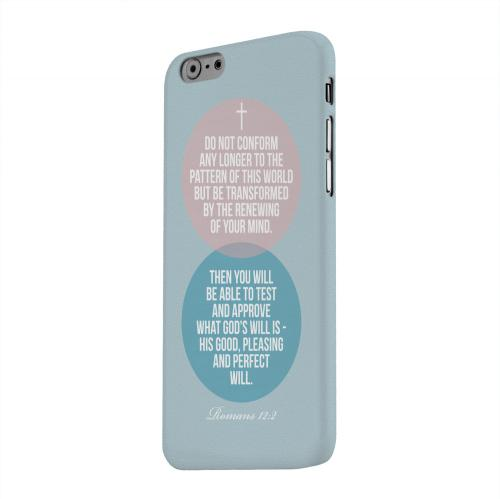Geeks Designer Line (GDL) Apple iPhone 6 Matte Hard Back Cover - Romans 12:2