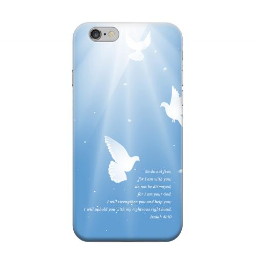 Geeks Designer Line (GDL) Apple iPhone 6 Matte Hard Back Cover - Isaiah 41:10